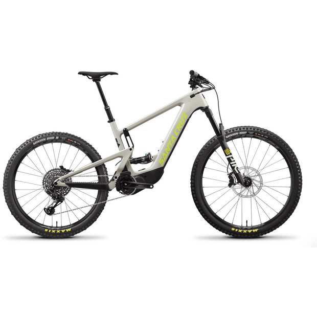 Santa Cruz Heckler 8 CC MX S-Kit yellowjacket/fog full view