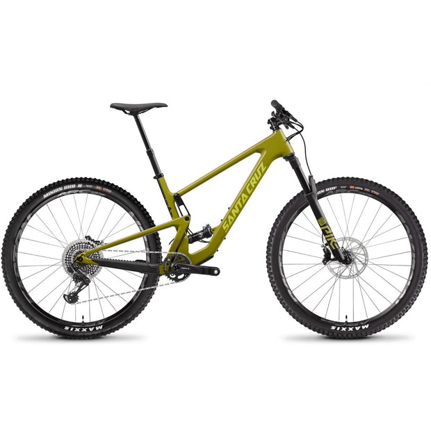 Santa Cruz Tallboy 4 CC 29 X01 yellow full view
