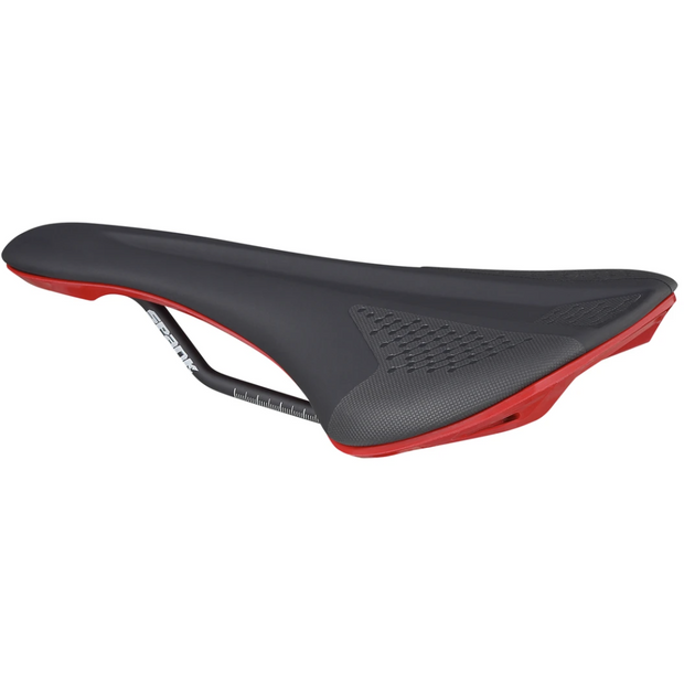 Spank Spike Saddle 160 Black/Red full view