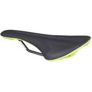 Spank Spike Saddle 160 Black/Green full view
