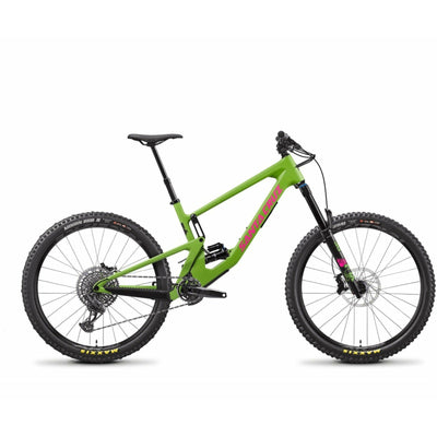 Santa Cruz Nomad 5 CC 27.5 S-Kit Adder Green/Magenta full view