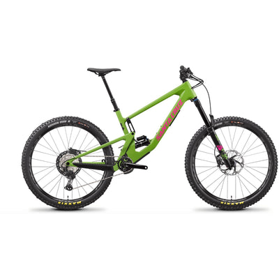 Santa Cruz Nomad 5 C XT Adder Green/Magenta full view