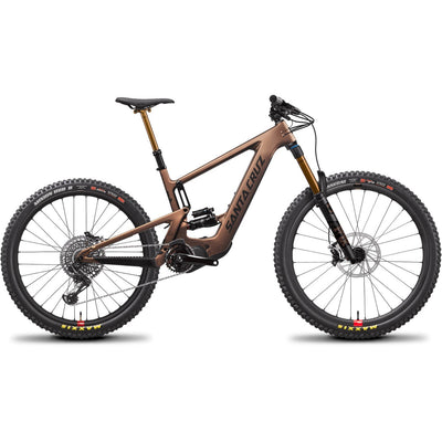 Santa Cruz Bullit 3 CC MX X01 with reserve wheels copper full view