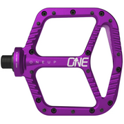 OneUp Aluminum Platform Pedals purple view