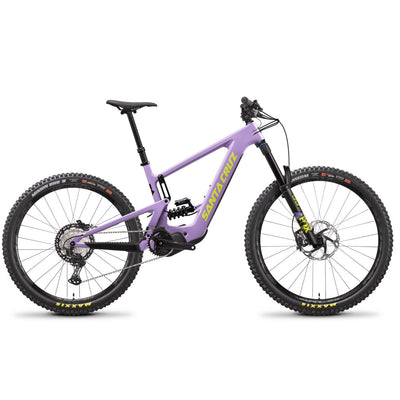 2021 Santa Cruz Bullit 3 CC MX XT lavender full view