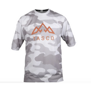 Tasco Camo Trail Short Sleeve Jersey white front view