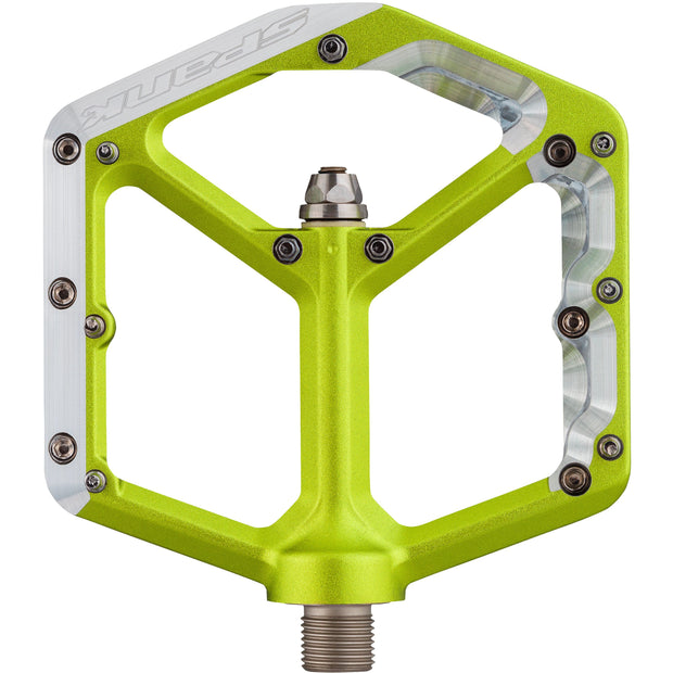 Spank Oozy Trail Pedals green
