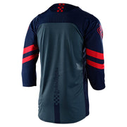Troy Lee Designs Ruckus 3/4 Jersey  navy red back