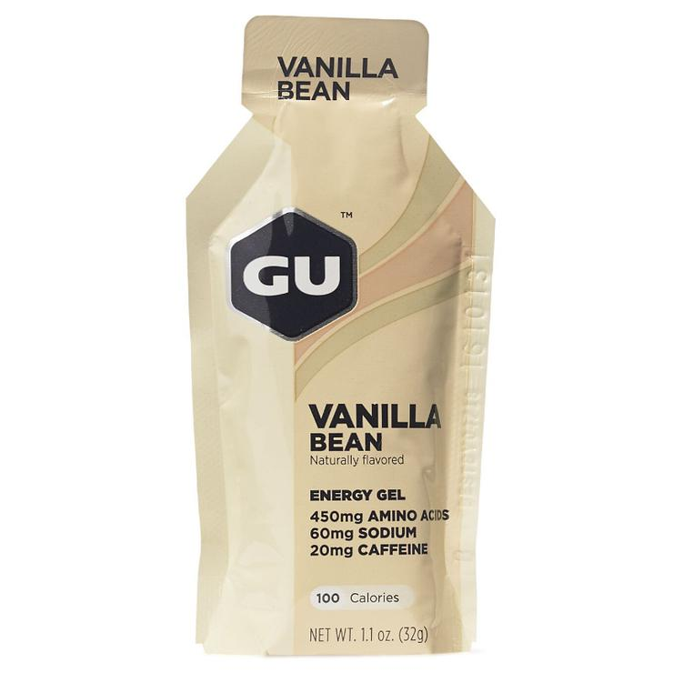 GU Energy Gel Vanilla Bean full view