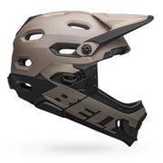 Bell Super DH MIPS Helmet  matte gloss sand black right side view