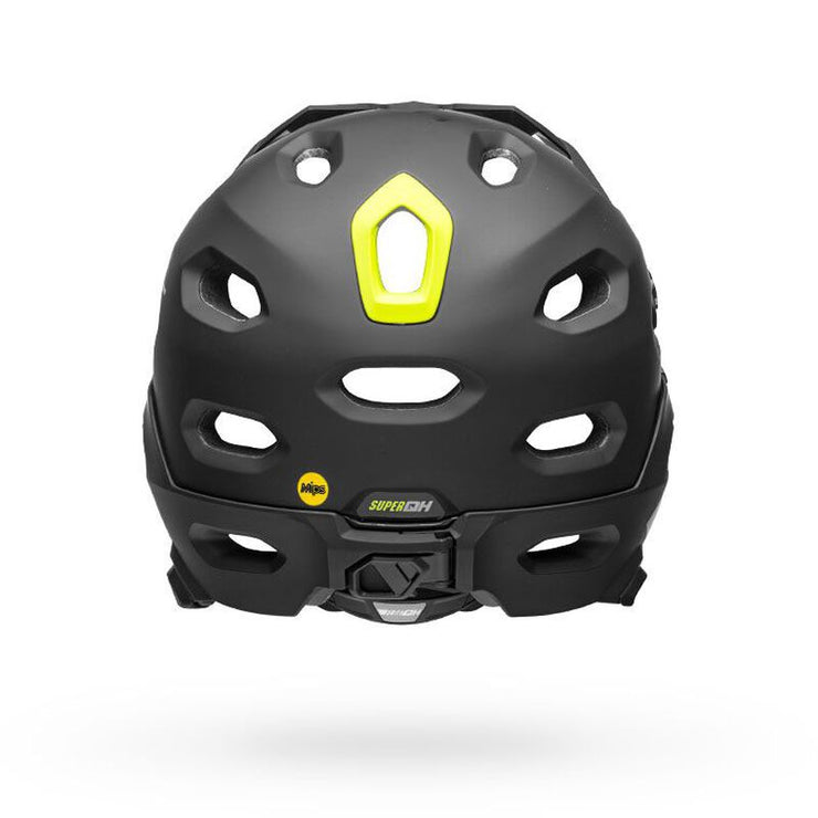 Bell Super DH MIPS Helmet  black back view