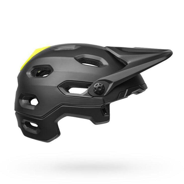 Bell Super DH MIPS Helmet gloss black right no chinbar view