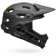 Bell Super DH MIPS Helmet  gloss black side view