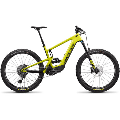 2021 Santa Cruz Heckler 8 CC S-Kit, Yellowjacket/Black, Full View