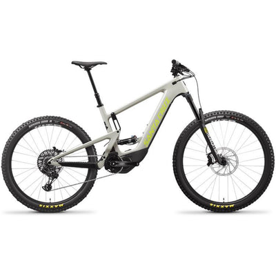 2021 Santa Cruz Heckler 8 CC MX R-Kit fog/yellowjacket full view