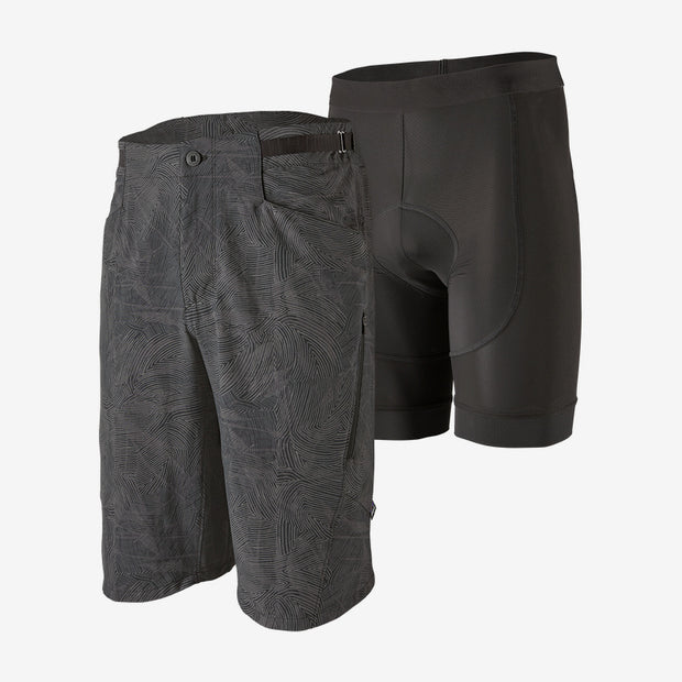 Patagonia Men's Dirt Craft Shorts Retro layers black