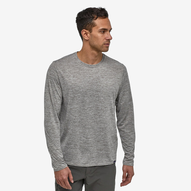 Patagonia Men's Long-Sleeved Capilene Cool Daily Shirt Feather Gray