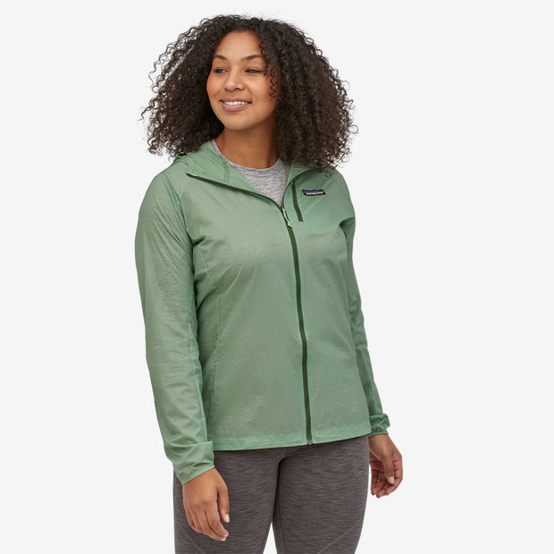 Patagonia Women's Houdini Jacket on model
