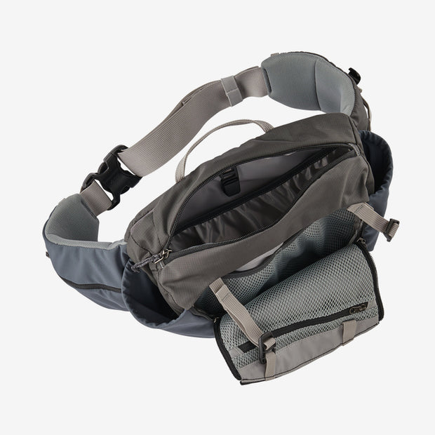 Patagonia Nine Trails Waist Pack 8L top view open