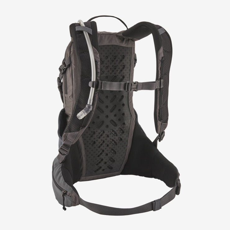 Patagonia Nine Trails Pack 14L straps and waistband forge gray