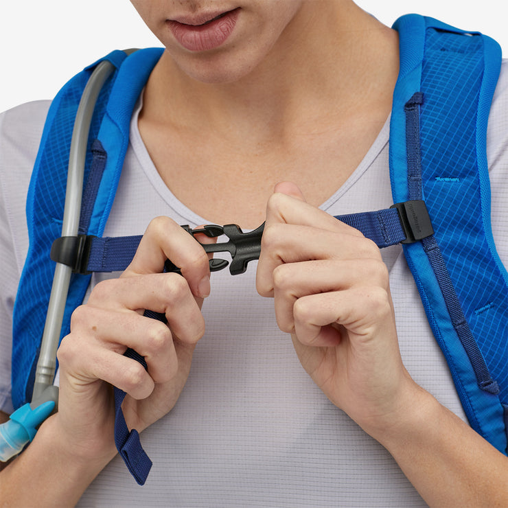 Patagonia Nine Trails Pack 14L chest strap detail