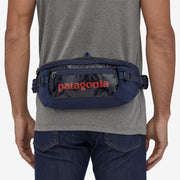 Patagonia Black Hole Waist Pack 5L on model