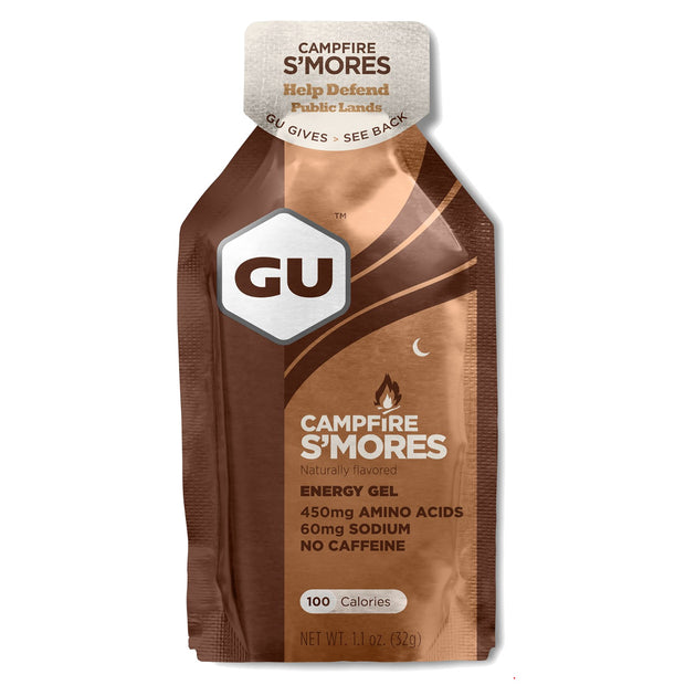 GU Energy Gel Campfire S'Mores full view