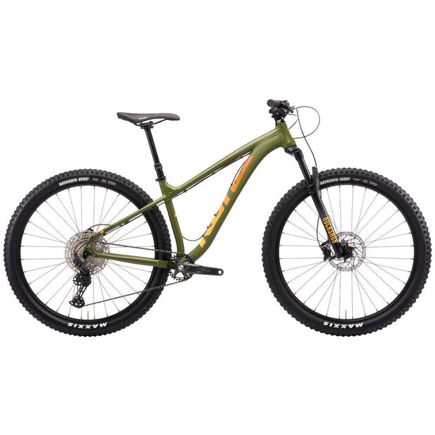 2021 Kona Honzo green full view