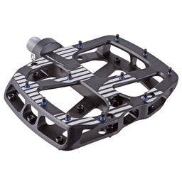 e*Thirteen Plus Platform Pedals Aluminum black full view