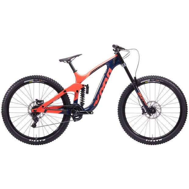 2020 Kona Operator CR, Sunset Orange/Indigo, Full View