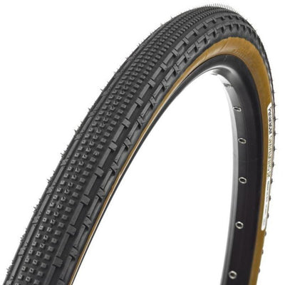 Panaracer GravelKing TC K Tire, 700x35c - Black/Brown full view