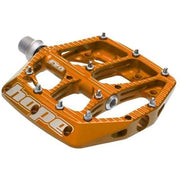 Hope F20 Pedals orange full view
