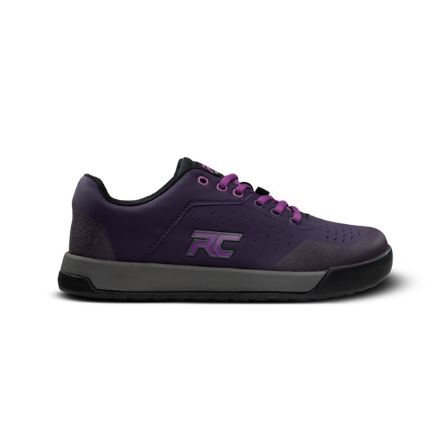 Ride Concepts Hellion women's mountain bike shoe purple side view