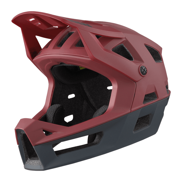 IXS Trigger Full Face Helmet Red