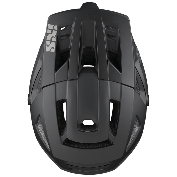 IXS Trigger Full Face Helmet black top view