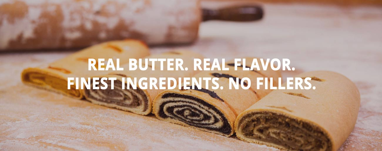 Real Butter. Real Flavor. No Artificial Ingredients. No Excuses.