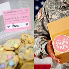 Military Cookie Care Package