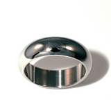 7mm Stainless Steel Men's Ring