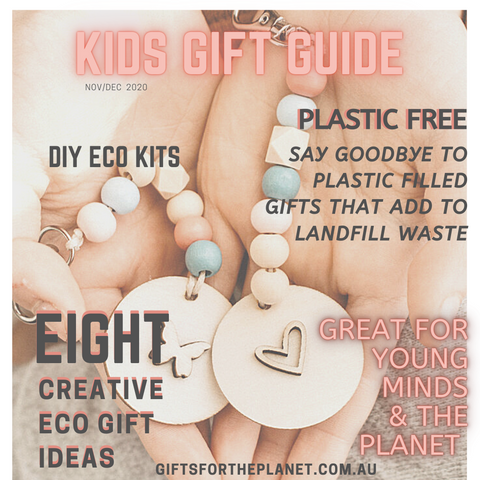 Sustainable kids gift guide supporting small local businesses - gift ideas for kids