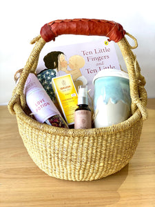 Natural Mum & Baby Gift Basket