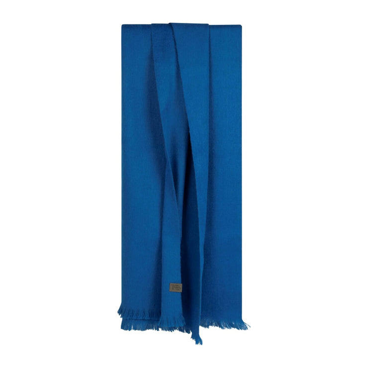 bufandy sjaal brushed solid xs royal blue