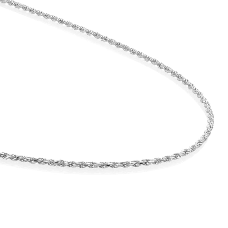 sparkling jewels ketting rope chain silver