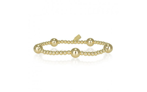 pscallme armband dot 5 gold