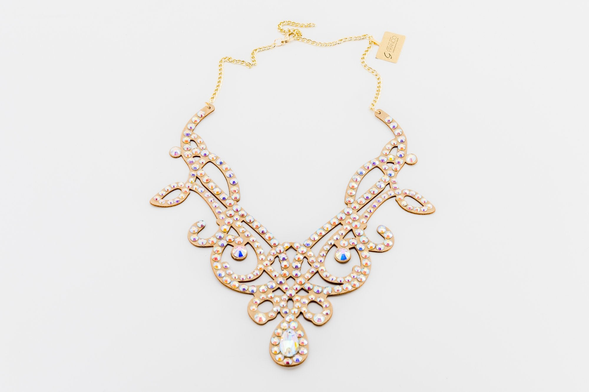 The Viscountess - Rhinestone Necklace (3010)