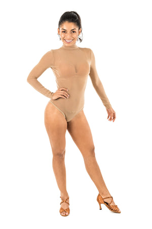 Mesh Long Sleeve Leotard (CW200)