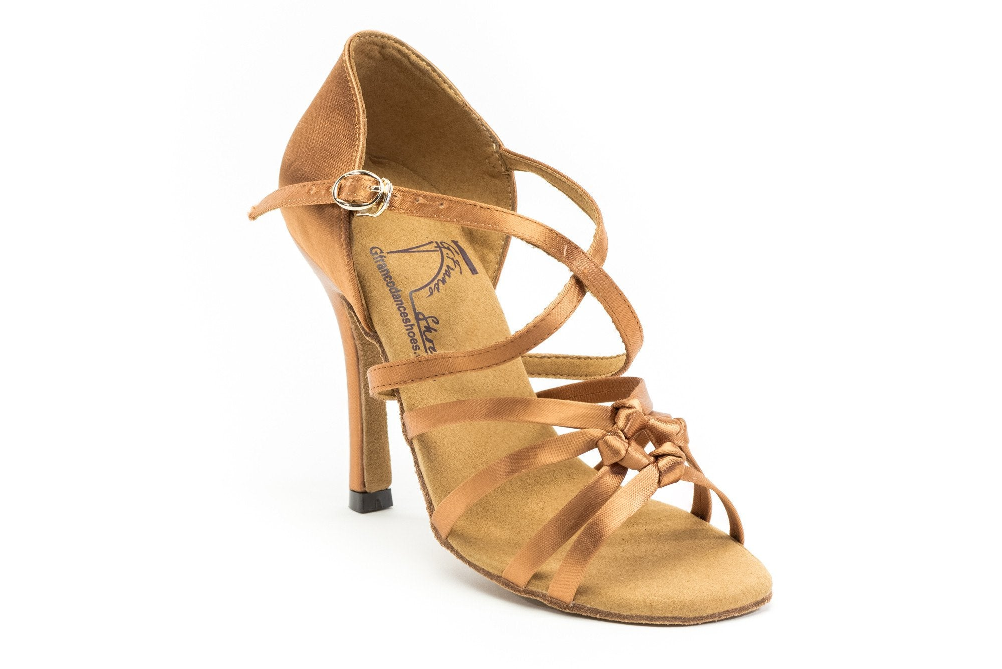 GFranco tan dance shoe - the Destiny
