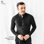 Men's Mandarin Collar Dance Shirt (CW300)
