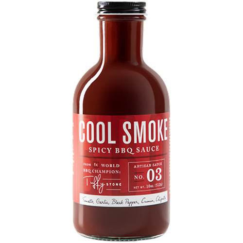 Cool Smoke Spicy BBQ Sauce 510g