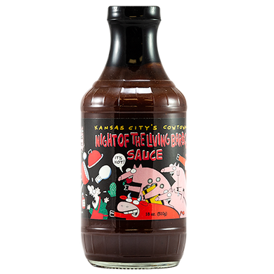 Cowtown BBQ 'Night of the Living' BBQ Sauce 510g