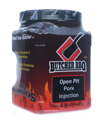 Butcher BBQ 'Open Pit' Pork Injection 453g